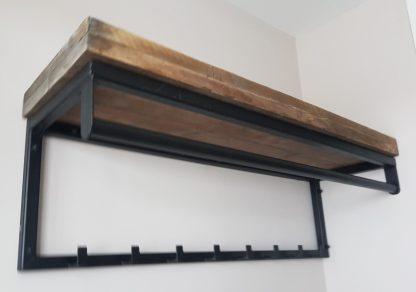 REMCO kapstok stoer staal en hout